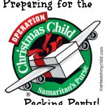 Preparing for the Operation Christmas Child Packing Party