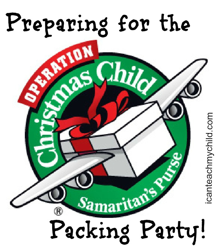 Christmas Children Party: Preparing For The Operation Christmas Child Packing Party