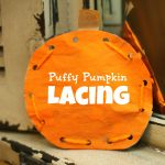 Puffy Pumpkin Lacing 150x150 Family Tree of Thankfulness