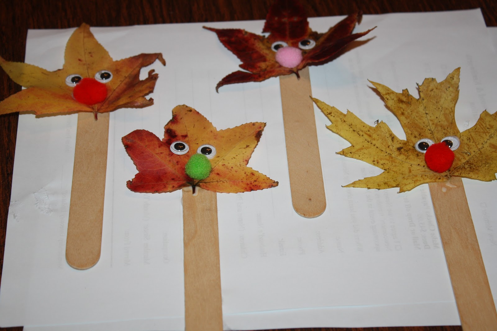 fall craft ideas show and saturday link up i can teach my child 1978