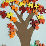 puzzle piece fall tree 150x150 Show and Share Saturday Link Up!