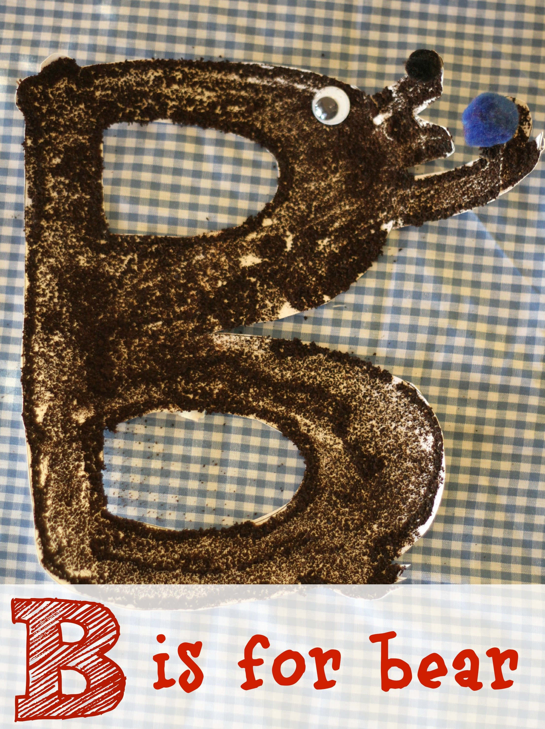 2795d1de9d1 Alphabet Craft  B is for Bear - I Can Teach My Child!