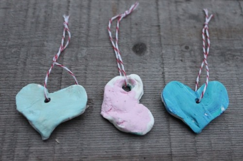 Baking Soda Clay Ornaments 500x332 Show and Share Saturday Link Up!