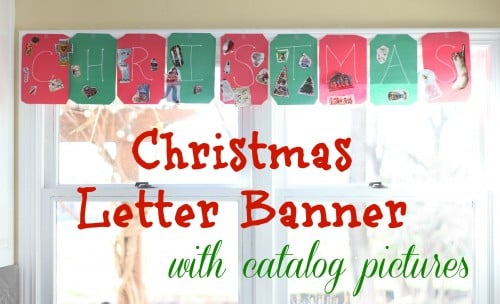Christmas Letter Banner with Catalog Pictures 500x304 Christmas Letter Banner with Catalog Pictures