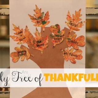 Family Tree of Thankfulness