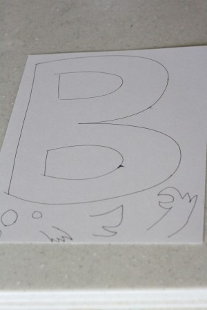IMG 6181 300x450 Alphabet Craft:  B is for Bear