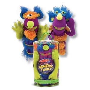 Make Your Own Monster Puppet 50% Off Select Melissa & Doug Toys (TODAY ONLY:  11/20)