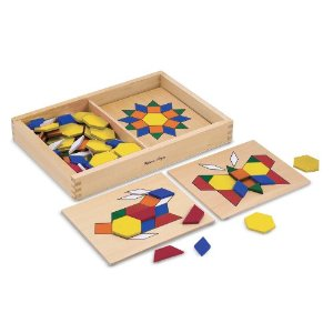 Pattern Blocks 50% Off Select Melissa & Doug Toys (TODAY ONLY:  11/20)