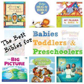 Best Children's Bibles for Babies, Toddlers, & Preschoolers