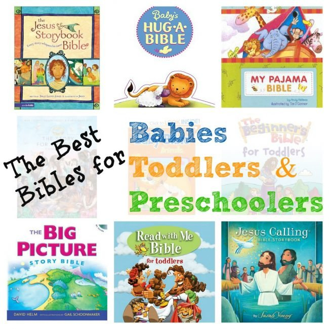 The 9 Best Children's Bibles for Babies, Toddlers & Preschoolers