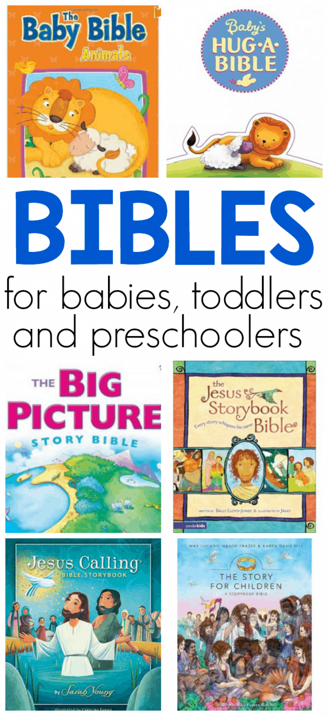 The best Bibles for babies, toddlers, and preschoolers