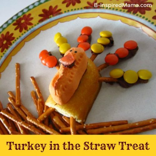 Turkey in the Straw Treat 500x500 Show and Share Saturday Link Up!