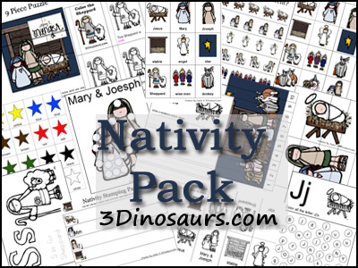 nativity pack Show and Share Saturday Link Up!