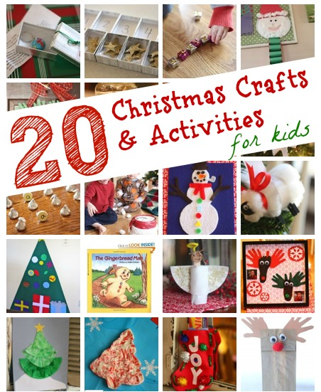 20 Christmas Crafts Activities For Kids I Can Teach My Child