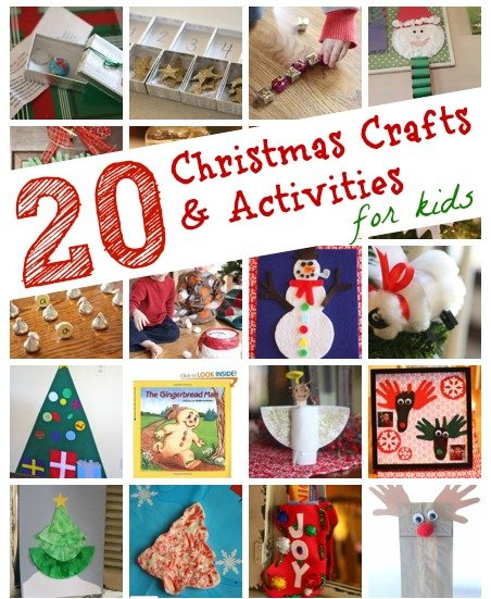 20 Christmas Crafts Activities for Kids 20 Christmas Crafts & Activities for Kids