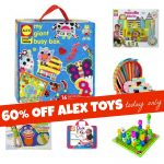 ALEX Toys 60 Percent Off Today Only 150x150 ALEX Craft Kits are 50% TODAY Only