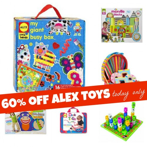 ALEX Toys 60 Percent Off Today Only 500x500 Great Deals on Toys Today!