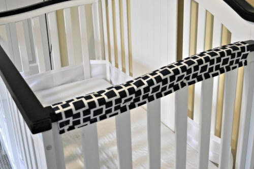 DIY Crib Teething Pad 500x332 Show and Share Saturday Link Up!
