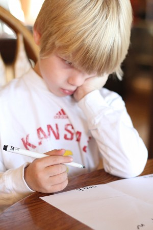 IMG 7102 300x450 Letter to Santa:  A Lesson in Learning to Write