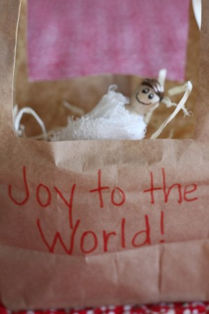 IMG 7284 300x450 Paper Bag Manger Craft