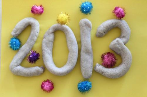Ring in the New Year with Glitter Playdough!