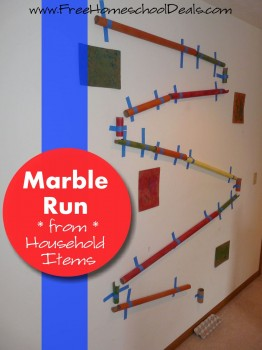 Marble Run Show and Share Saturday Link Up!