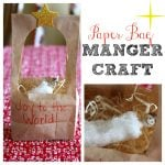 Paper Bag Manger Craft 150x150 Where is Jesus? Magic Watercolor Art
