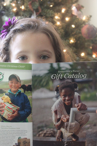 Samaritans Purse Catalog Creating a December Bucket List