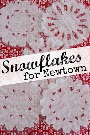 Snowflakes for Newtown 300x450 Snowflakes for Newtown
