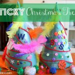 Sticky Christmas Trees 150x150 Show and Share Saturday Link Up!