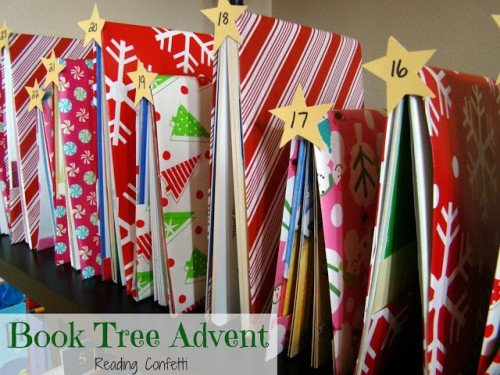 book tree advent 3 500x375 Show and Share Saturday Link Up!