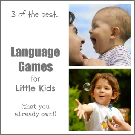 3 of the Best Language Games for Little Kids