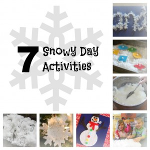 7 Snowy Day Activities 300x300 7 Snowy Day Activities