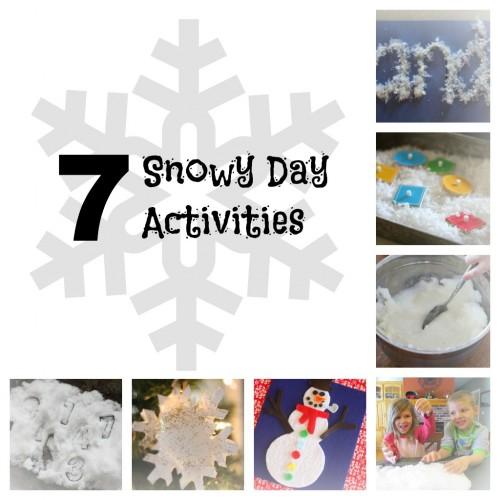 7 Snowy Day Activities