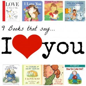 9 Books that Say I Love You
