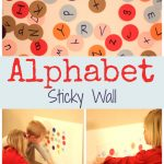 Alphabet Sticky Wall Collage 150x150 Show and Share Saturday Link Up!