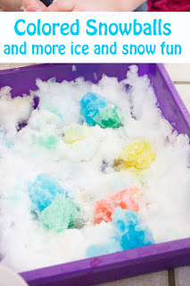Colored Snowballs