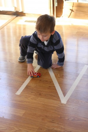IMG 7875 300x450 Floor Tape Letters
