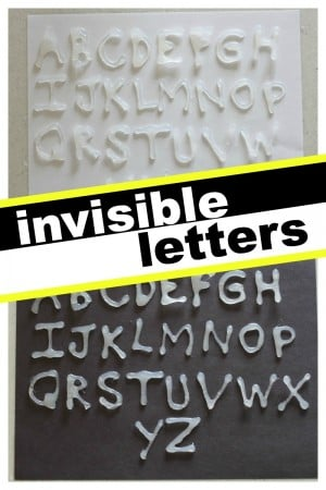 Invisible Letters