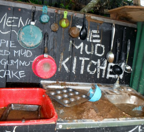 Mud Kitchen 500x459 Show and Share Saturday Link Up!