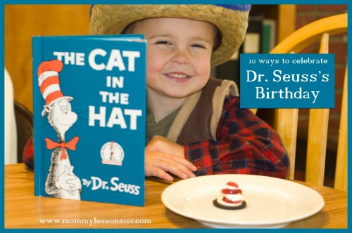 10 Ways to Celebrate Dr. Seusss Birthday 500x332 Show and Share Saturday Link Up!