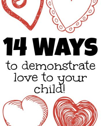 14 Ways to Demonstrate Love to Your Child