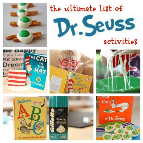Dr. Seuss Activities 500x500 The Ultimate List of Dr. Seuss Activities
