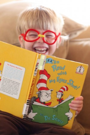 I Can Read with My Eyes Shut 300x449 The Ultimate List of Dr. Seuss Activities