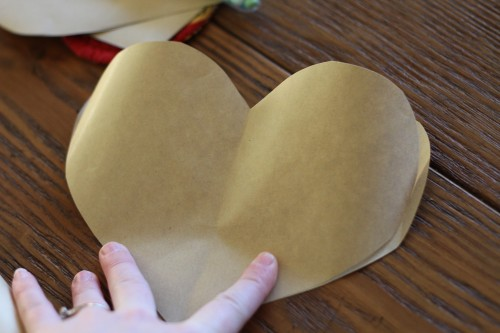 IMG 8051 500x333 Simple Brown Paper Valentines (Filled with Candy)