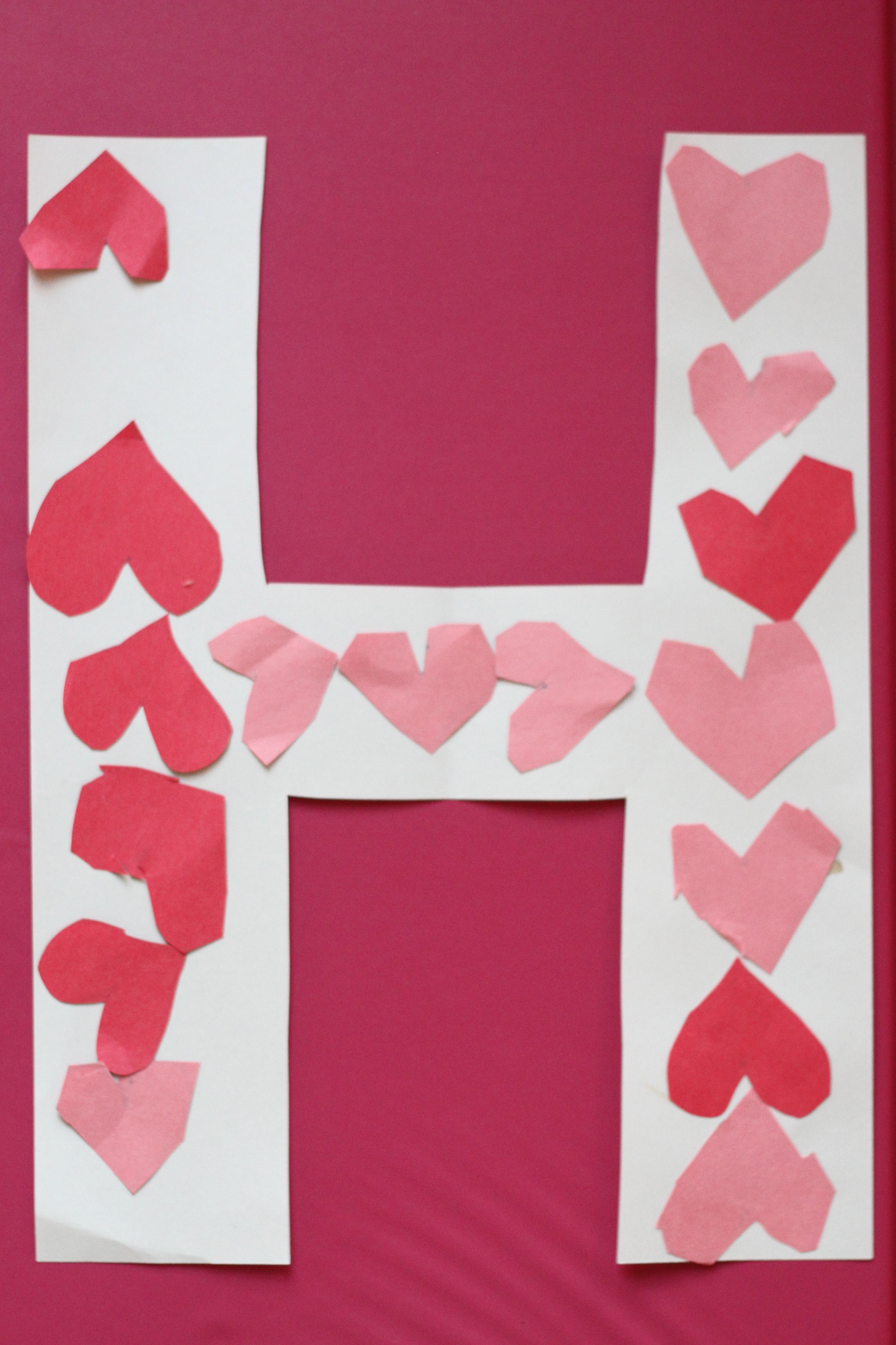 "Heart Is An International Peer Reviewed Journal: ""H Is For Heart"" Alphabet Craft"