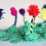 "Truffula Trees Craft from ""The Lorax"""