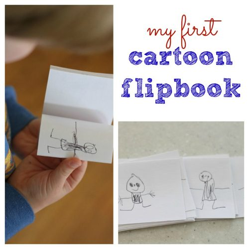 My First Cartoon Flipbook 500x500 My First Cartoon Flipbook
