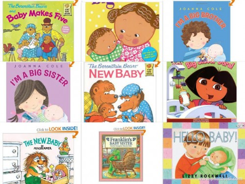 New Baby Book List 500x375 Show and Share Saturday Link Up!