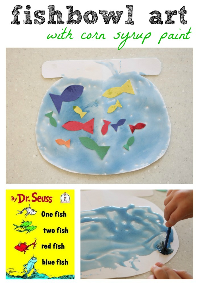 Gallery For gt Dr Seuss Fish Bowl Craft